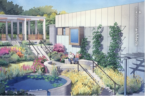 Our new Botanical Garden is going to have an amazing visitors center!