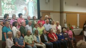 Gold Badge Club: 1,000+ hours of volunteering as Master Gardeners. Our very own Lillian Mahaney is a Gold Badge wearer!