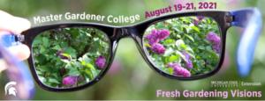 Master Gardener College logo